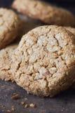 Ciastka z banatki mąką Zdjęcie Royalty Free