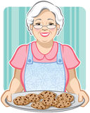 ciastko babcia s Obraz Royalty Free