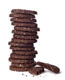 ciastko cukierki tortowy czekoladowy karmowy Obrazy Stock