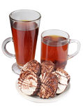 Ciastko i herbata Zdjęcia Royalty Free