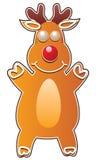 ciastko jeleni piernikowy Rudolph ilustracji