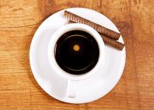 ciastko kawowa filiżanka Fotografia Royalty Free