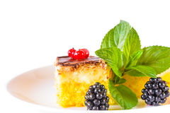 Ciastko tort Zdjęcie Stock