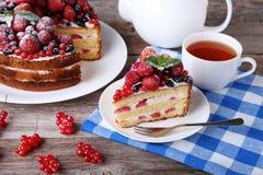 Ciastko tort Zdjęcia Stock