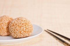 ciasto bobowa chińska czerwień Zdjęcie Royalty Free