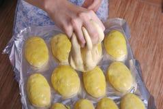 Ciasto dla babeczek Zdjęcia Stock