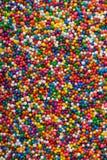 ciasto kolor dekoracje jimmies kropią Obraz Stock