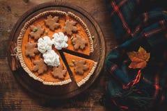ciasto kremowe pumpkin bita Obraz Stock