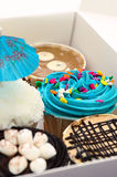 ciasto kubki fantazji sprzedaży Fotografia Royalty Free