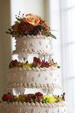 ciasto kwiatek dekoracji ślub Obraz Stock