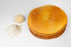 ciasto mąka Fotografia Royalty Free