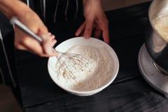 Ciasto melanżer dla torta Zdjęcie Royalty Free