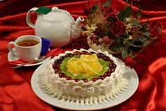 ciasto odznaczony elegancko obrazy royalty free