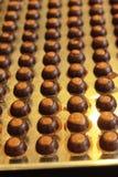 Ciasto robi czekoladowy cukierki jest wyśmienicie Obraz Stock