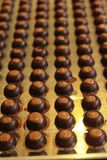 Ciasto robi czekoladowy cukierki jest wyśmienicie Fotografia Royalty Free