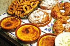 Ciasto sklep w Barcelona Fotografia Royalty Free