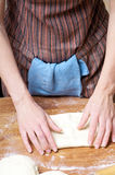ciasto stół obrazy stock