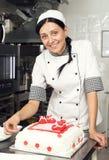 Ciasto torta Dekorować Obraz Stock