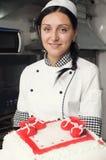 Ciasto torta Dekorować Obraz Royalty Free