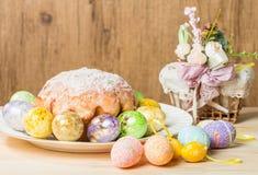 ciasto Wielkanoc jaj Obraz Royalty Free