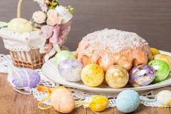 ciasto Wielkanoc jaj Obrazy Royalty Free