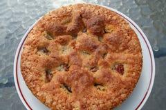 Ciasto z Szwedzkim jabłkiem i cynamonem Obraz Royalty Free