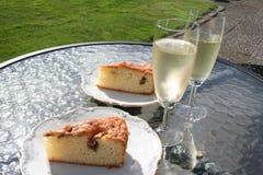 Ciasto z Szwedzkim jabłkiem i cynamonem Zdjęcia Royalty Free