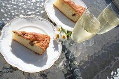 Ciasto z Szwedzkim jabłkiem i cynamonem Zdjęcie Stock