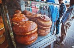 Ciasto za szkłem na ulicie w Darjeeling, India Fotografia Stock