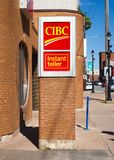 CIBC bank Obrazy Stock