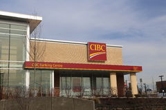 Cibc bank zdjęcie stock