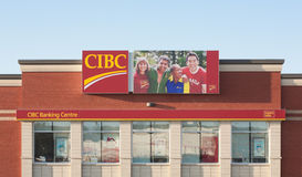 CIBC Banking Centre Royalty Free Stock Photography