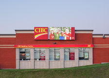 CIBC Banking Centre Royalty Free Stock Photo
