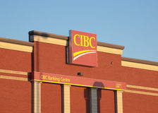 CIBC Banking Centre Stock Photo