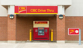 CIBC Drive Through ATM Stock Photos
