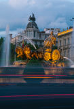 Cibeles喷泉,马德里 免版税库存图片