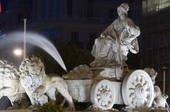 Cibeles Royalty Free Stock Photos
