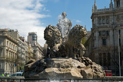 Cibeles from the from Royalty Free Stock Photo