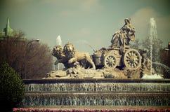Cibeles Royaltyfri Foto