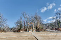 Cibeles-Brunnen an La Granja-Palast, Spanien Lizenzfreies Stockfoto