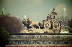 Cibeles Royalty Free Stock Photo