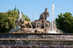 Cibeles Fountain stock photos
