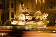 Cibeles Fountain, Madrid Royalty Free Stock Photo