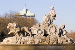 Cibeles fountain, Madrid Stock Image