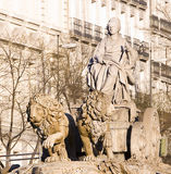 Cibeles fountain, Madrid Royalty Free Stock Photography