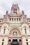 Cibeles Madrid Royaltyfri Fotografi