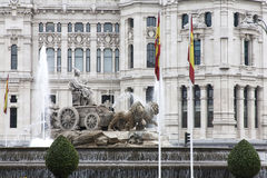 Cibeles, Madryt, Hiszpania zdjęcie stock