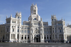 Cibeles Palace Stock Images