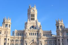 Cibeles Palace, Madrid Stock Image