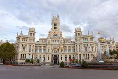 Cibeles Palace Stock Photography